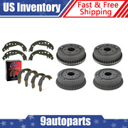 For 1964-1965 Oldsmobile F85 Front And Rear Brake Drums And Brake Shoes