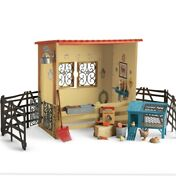 American Girl Horse Stable And Chicken Coop Fgg38 Nib Nrfb Complete New