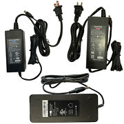 Lot Ul 12v 3a 4a 5a 6a Ac Dc Adapter Power Supply Charger W/ 5.5mm X 2.5mm/2.1mm