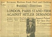 London And Paris Stand Firm Against Hitler Rationing In Germany August 27 1939