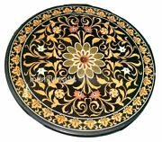 48x48 Inches Marble Dining Table Top Floral Art Lawn Table From Vintage Crafts