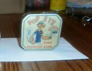 Original 1929 Popeye Dime Register Bank. Good Used Condition.