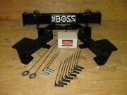 Boss Snow Plow Rt3 Full Size Only Truck Mount Lta05300 04-08 Ford F150 Only