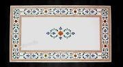 Royal Look Lawn Table Top White Marble Dining Table Top Size 30 X 60 Inches