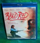 New Rare Oop Olive Films Eric Roberts Dennis Hopper Blood Red Blu Ray Movie 1989