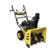 24 Snow Blower With Electric Start Champion 100679 New Free Shipping