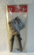 Malco Tools Pl1 Punch Lock Stud Crimper Tool W/ Storage Pouchmade In Usaeuc