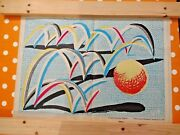 David Hockney A Bounce For Bradford 1987 - Limited Edition Plate Signed