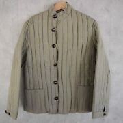 50s Bulgarian Army Quilted Liner Jacket Military Liner Vintage Rare Old Clothes