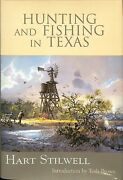 John Cowan And Tosh Brown Signed Book Hunting And Fishing In Texas Bas Z46282