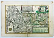 Israel The Holy Land Exodus From Egypt 19th Century Antique Map