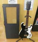 Vintage Silvertone Electric Guitar 1960 Model 1448 Hard Case With Amplifier F/s