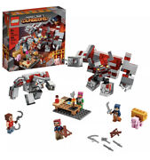 New Lego 21163 Minecraft Dungeons The Redstone Battle Mob Block Building Set