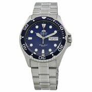 Brand New Orient Ray Ii Automatic Blue Dial Men's Watch Faa02005d9 Us4