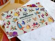 Alice In Wonderland X Oh My Cafe Japan Limited Table Placemat Cream Disney Rare