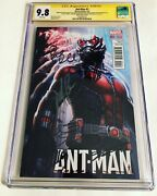 Cgc 9.8 Ss Ant-man 1 Variant Signed Rudd Lilly Mackie Atwell Lee And Pena +1