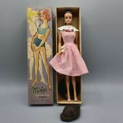 New Midge Dancing Doll Je Variation Dressed Box Doll M1626 From 1965