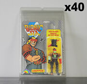40 X Protective Figure Case For Bionic 6 3 3/4 Inch Moc Action Figures