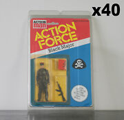 40 X Protective Figure Case For Action Force 3 3/4 Inch Moc Action Figures