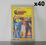 40 X Protective Figure Case For Indiana Jones 3 3/4 Inch Moc Action Figures