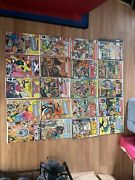 Large Lot Of 40 Vintage Comic Books Collection Mixed Lot Of Dc, Marvel, Hot 💥💥