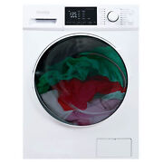 Danby 2.7 Cu. Ft. All-in-one Ventless Washer Dryer Combo, White For Parts