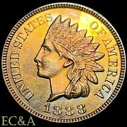1888 1/1 Indian Head Cent Proof Superb Gem Proof 1 With Rpd And Mpd Ih543