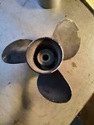 Johnson Evinrude 50hp 1988 Propellor 10 By 13 Pitch