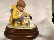 Willits Galleries 1987 Donald Zolan Limited Edition Musical Figurine Feeling