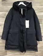 ✨nwt✨ Lululemon Size 6 Out In The Elements 3-in-1 Parka Black