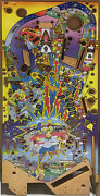 Stern - Simpsons Pinball Party Playfield - Stern Nos Hard To Find Playfield