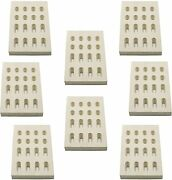 8-pack Ceramic Radiant Heat Plate Replacement Parts For Barbeques Members Mark