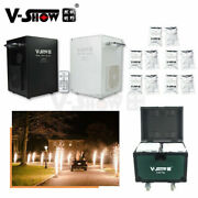 V-show 2pcs 750w Cold Spark Firework Machine For Wedding Party With Case+10 Bags