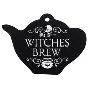 Alchemy England Witches Brew Teapot Trivet Pagan Kitchen Witch Gift