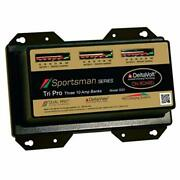 Dual Pro Sportsman Pro Charging Ss3 Series Battery Charger 10 Amp Banks 30 Amps