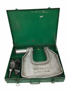 Greenlee 1732 C Frame Hydraulic Knockout Punch Driver W/ Case And Dies | 10504