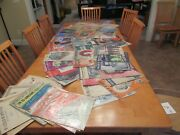 Lot Over 70 Antique Early 1900s Sheet Music Books Art Deco Cover Artwork Vintage