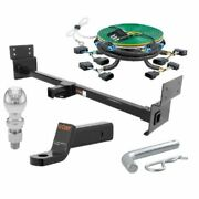 Curt Rv Hitch Tow Package 2 Drop Mount 2-5/16 Trailer Ball For 09-14 Ford F150