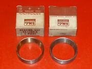 Nos Rare 1949-1954 Ford Car Front Wheel Inner Bearing Cups 8a-1202-a Nice
