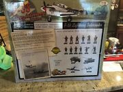 Ultimate Soldier 1/18 Scale P-38 Andldquo Twin Fork Tail Devil Andldquo Huge New Green Paint.