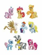 Mlp My Little Pony Friendship Is Magic Exclusive Toy Figure Collection Set Of 9