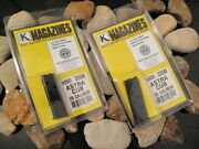 2-pack Fits Astra Cub Mags Magazine Discontinued 6 Round Blue New .25 25 Acp