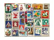 White Mountain Puzzles Christmas Stamps 1000piece Jigsaw Puzzle