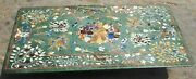30 X 48 Inches Marble Conference Table Top Inlay With Heritage Art Coffee Table