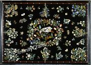 30 X 48 Inch Black Meeting Table Top Vintage Crafts Coffee Table Christmas Gift
