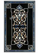 Beautiful Design Coffee Table Top Black Wall Master Pieces Size 30 X 48 Inches