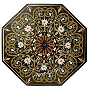 Octagon Shape Handmade Coffee Table Top Marble Kitchen Table 48 X 48 Inches