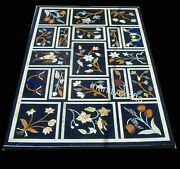 36 X 60 Inches Marble Hallway Table Top Nature Pattern Dining Table Home Assents