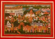 Hand Painted Fine Udaipur King Procession Painting Delicate Miniature Art Work
