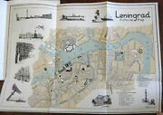 Great Cities Of Soviet Union Moscow 1935 Leningrad Travel Guide 2 City Plan Maps